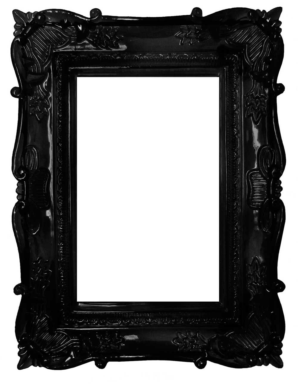 dark ornate picture frame