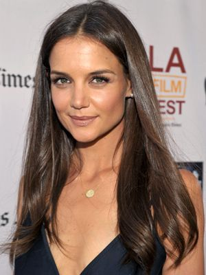 16 Of Our Favorite Brunettes With Images Katie Holmes Hair