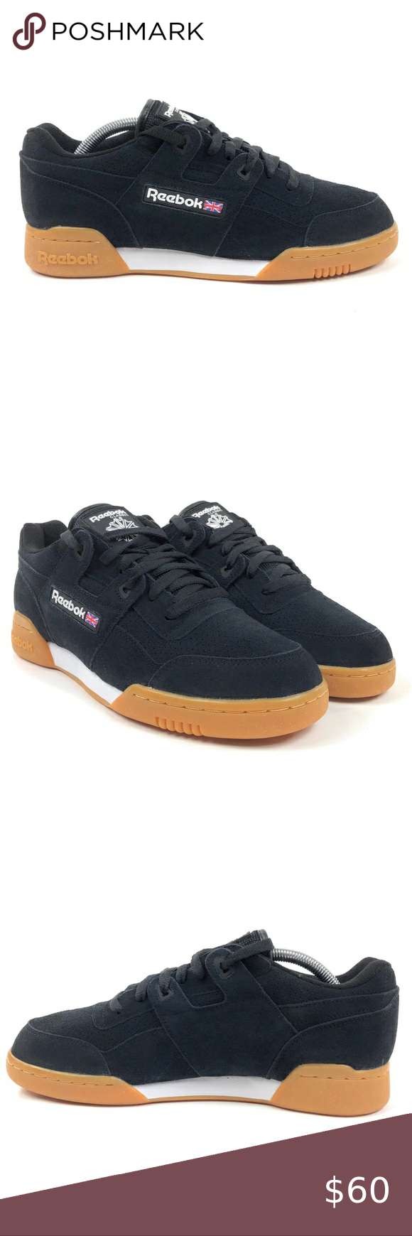Reebok WORKOUT PLUS EG Unisex Training Shoes in Black