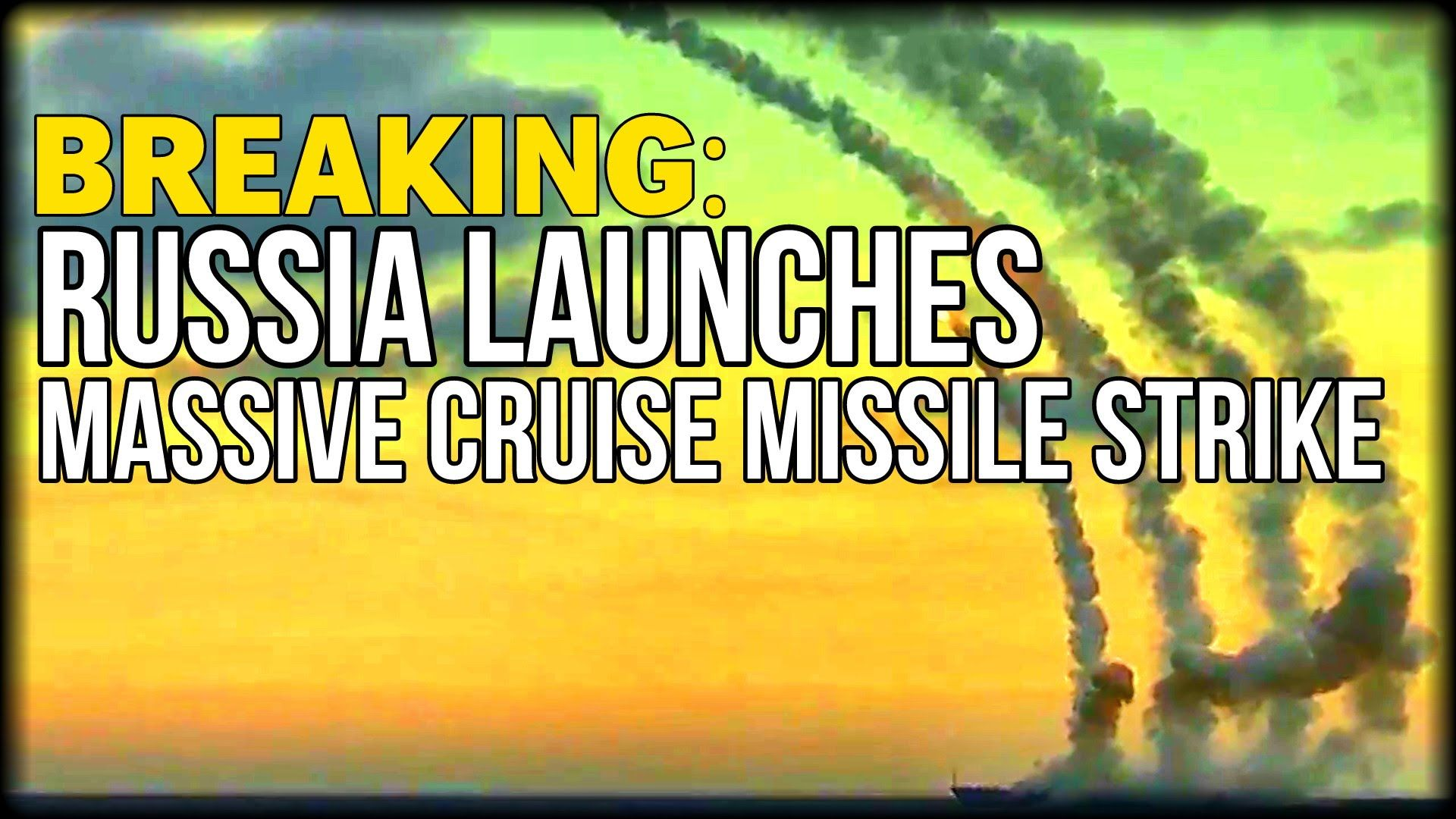 BREAKING: RUSSIA LAUNCHES MASSIVE CRUISE MISSILE STRIKE AGAINST SYRIAN T...