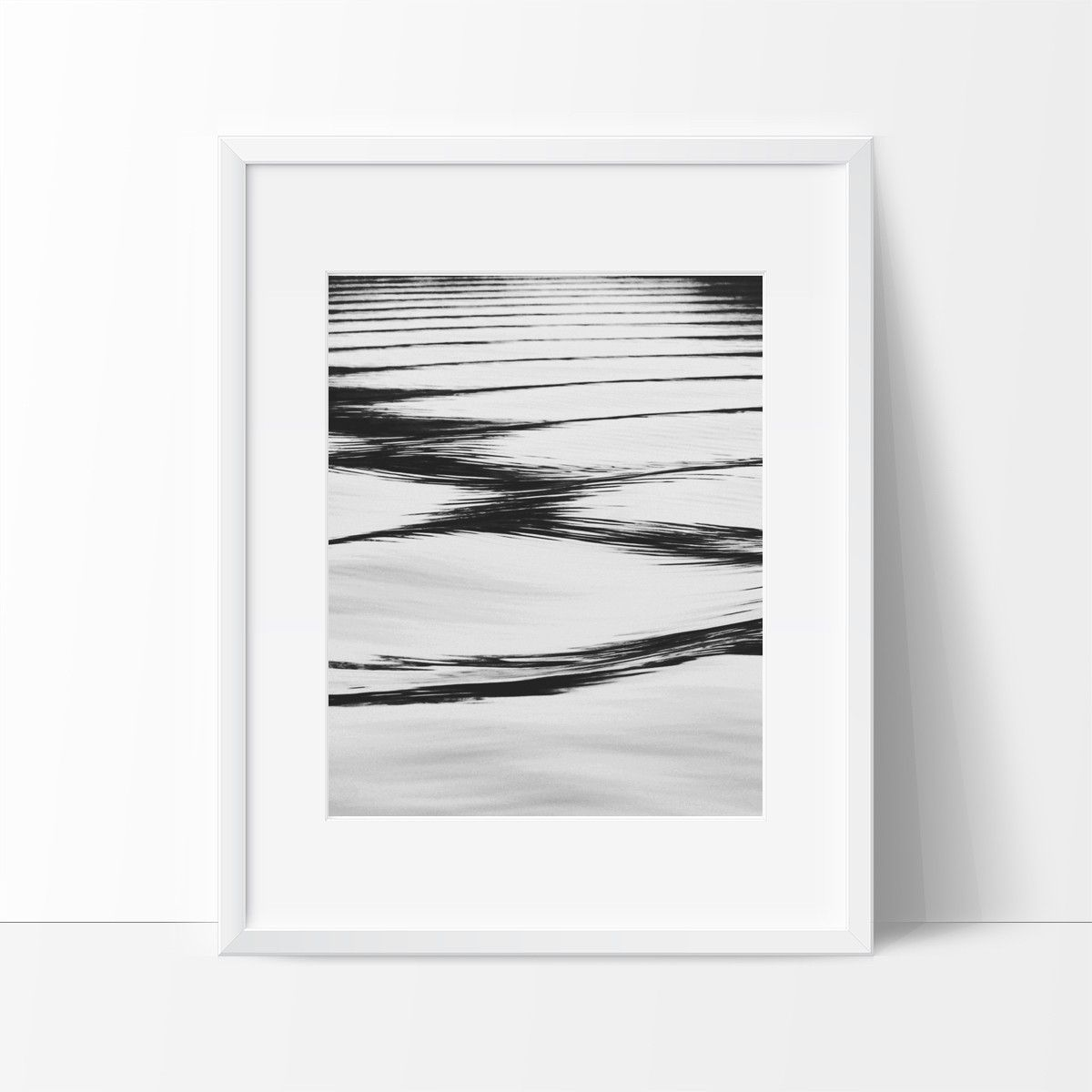 Ripples in the water photography wall art contemporary decor ideas