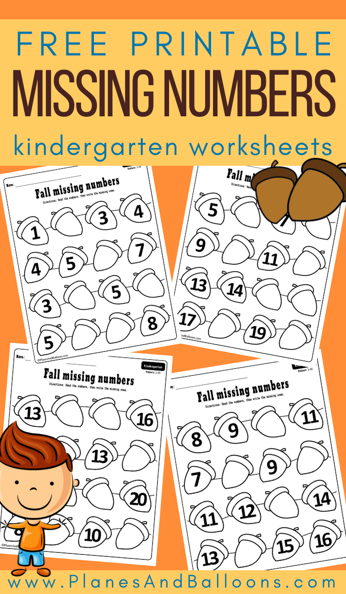 Fall Missing Number Worksheets For Kindergarten Kindergarten Worksheets Numbers Kindergarten Number Worksheets Kindergarten [ 1200 x 700 Pixel ]