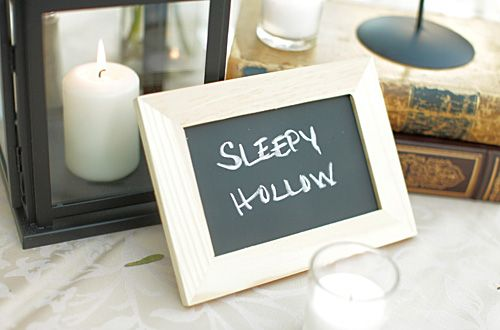 diy for chalkboards using ikea picture frames