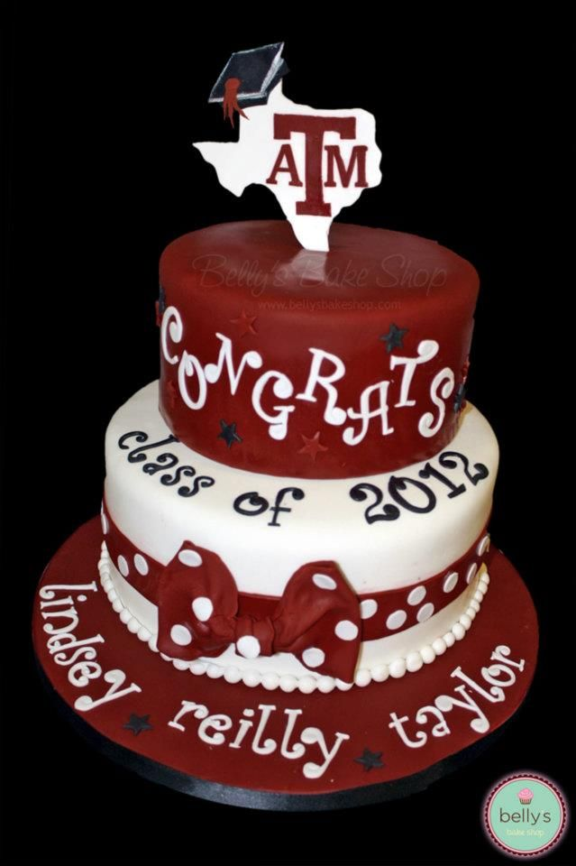Aggie Graduation Cakes Google Search Party Hardy