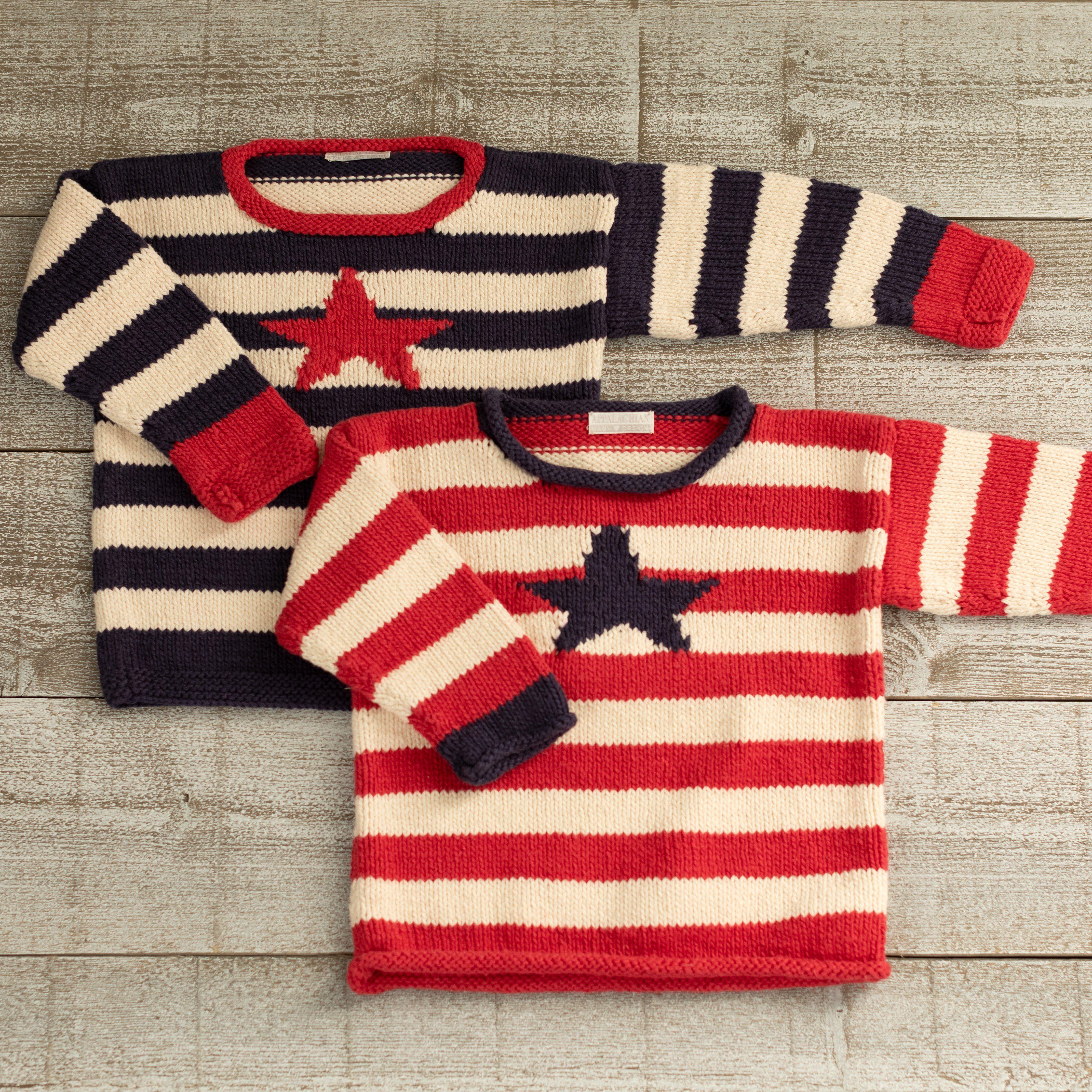 Stars & Stripes Pullover Kit - Red Stripe