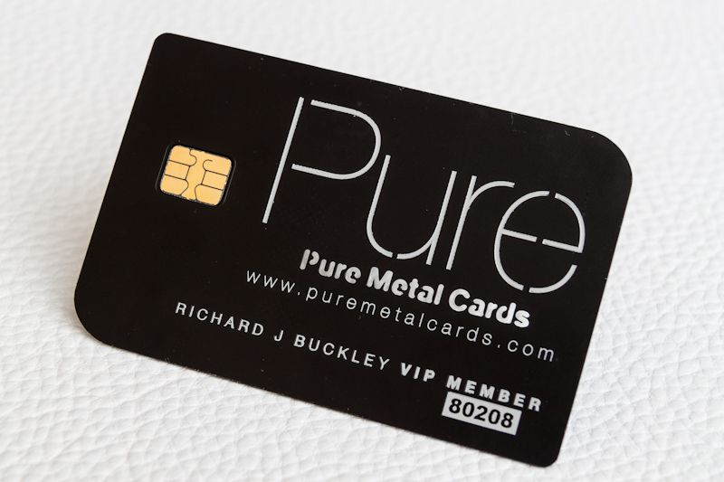 Making a Distinctive Metal VIP or Membership Cards #puremetalcards - membership cards design