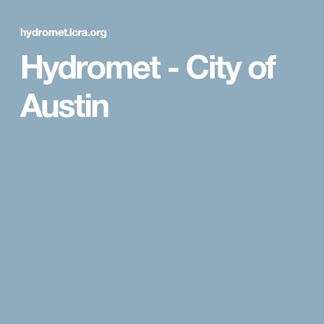 lcra hydromet
