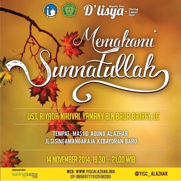 Dlisya - Jumat, 14 November 2014