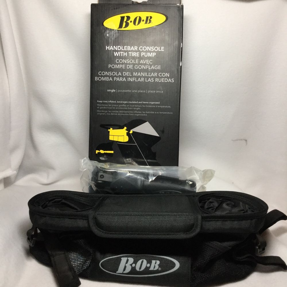 Bob Single Jogger Stroller Handlebar Console with Tire