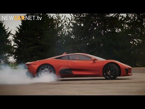Felipe #Massa plays #Bond villain in #Jaguar #C-X75 #007 #Spectre