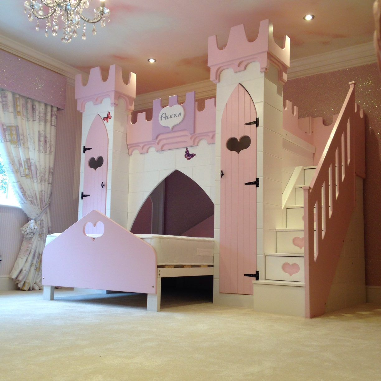 Princess Kids Bedroom Sets Interior Of Master Bedroom Newborn Boy Bedroom Ideas Bedroom For Kids: Princes Castle Bed-255