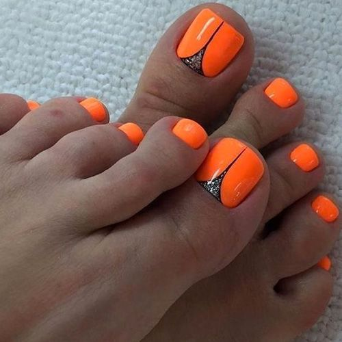 Best Summer Nails 45 Hot Summer Nails With Images Summer Toe Nails Pedicure Nail Art Pedicure Nails