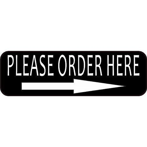 10x3 please order here vinyl business decal store sign decals sticker stickers