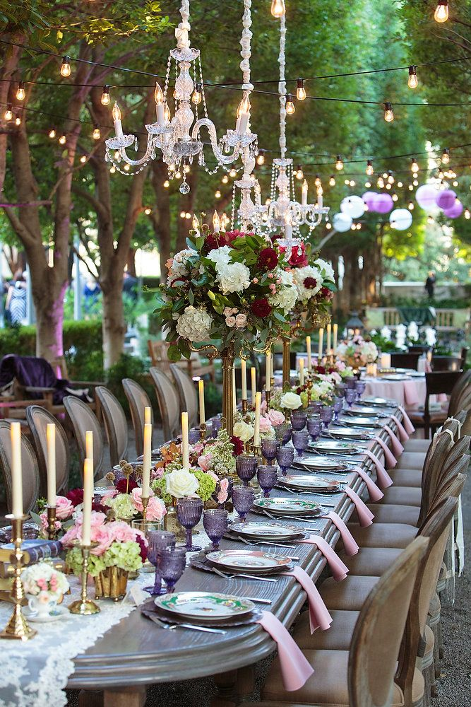 Pin on Garden Wedding at Marie Gabrielle by Rent My Dust