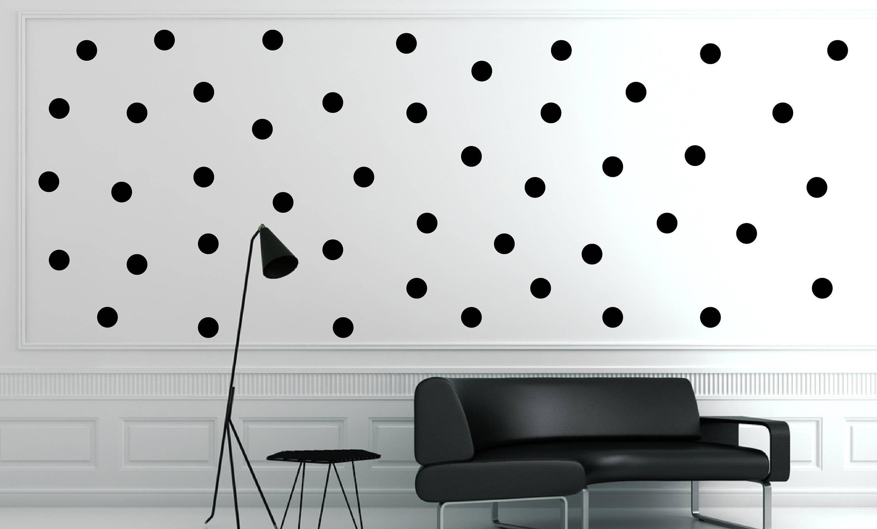 Pack Of Removable Polka Dots Removable Wall Window Art Decor Decal