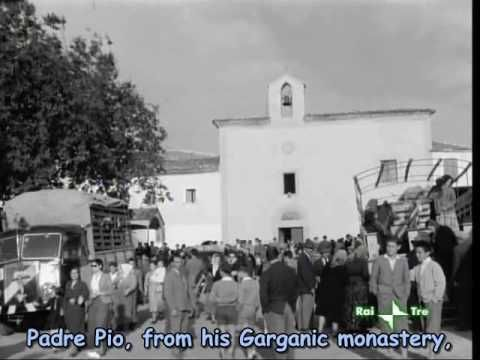 Padre Pio Movie - part 1 (the hospital, 1939-1954) -- find the other 5 parts to the movie on Youtube as well.