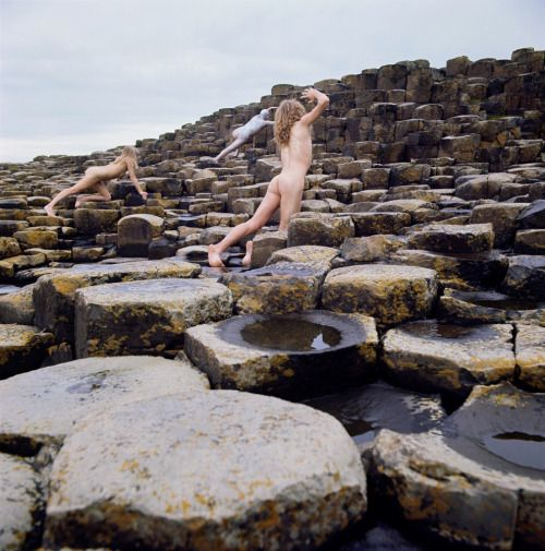 Led Zeppelin Houses Of The Holy Original Cover Photo By