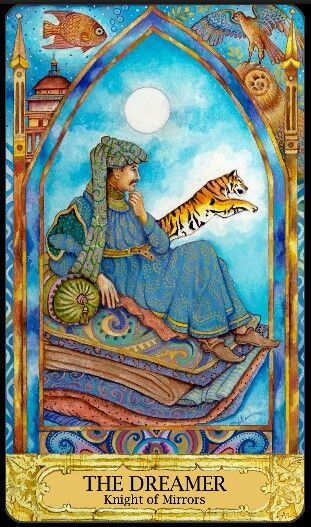 Tarot - The Dreamer - (Knight of Cups) Confident