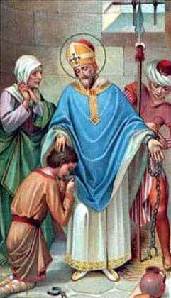 Saint of the Day – 22 June – St Paulinus of Nola (c 354-431) Bishop, Confessor, Poet, Writer, Apostle of Charity, Preacher, Orator, Senator and Governor,  – born Pontius Meropius Anicius Paulinus in c354 at Burdigala, Gaul (modern Bordeaux, France) and died on 22 June 431 of natural causes.