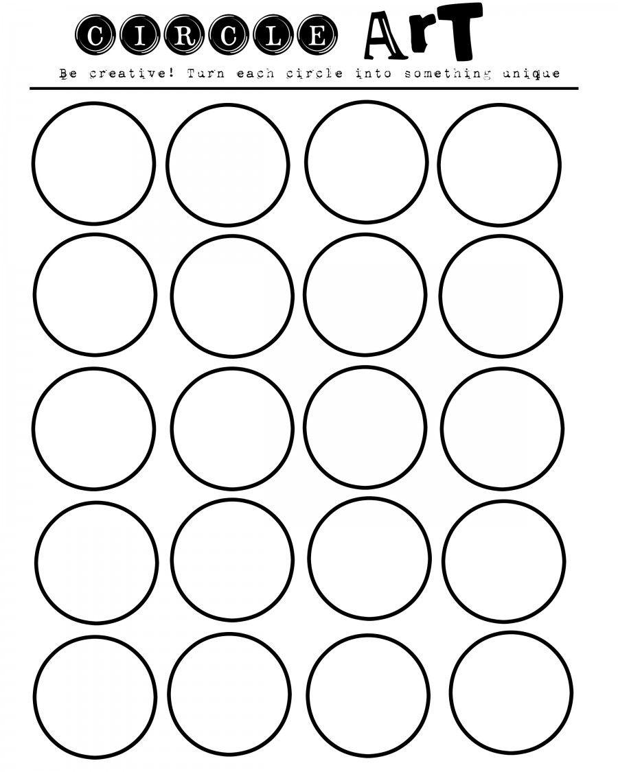 Art Worksheets To Print : Geometric art printable let your kids imaginations run