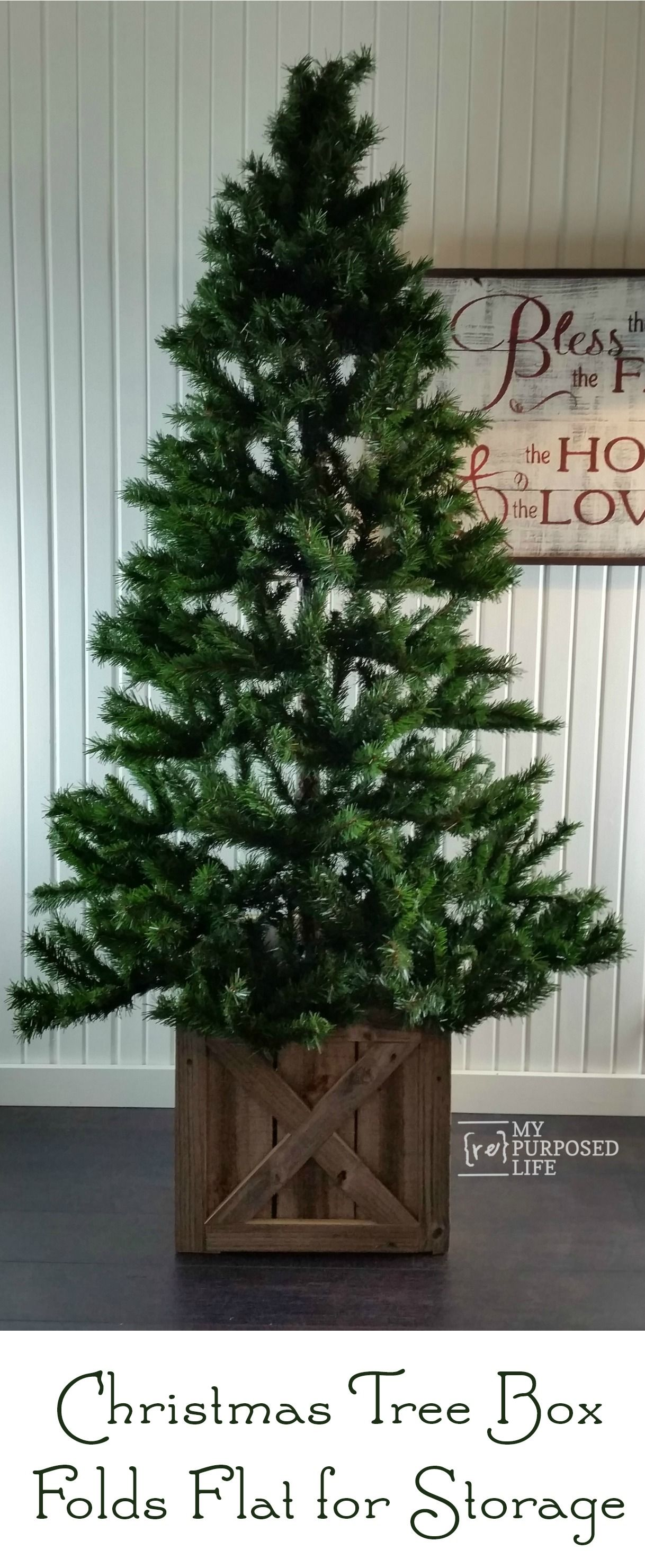 Christmas Tree Stand Box Christmas Tree Stand Diy Diy Christmas