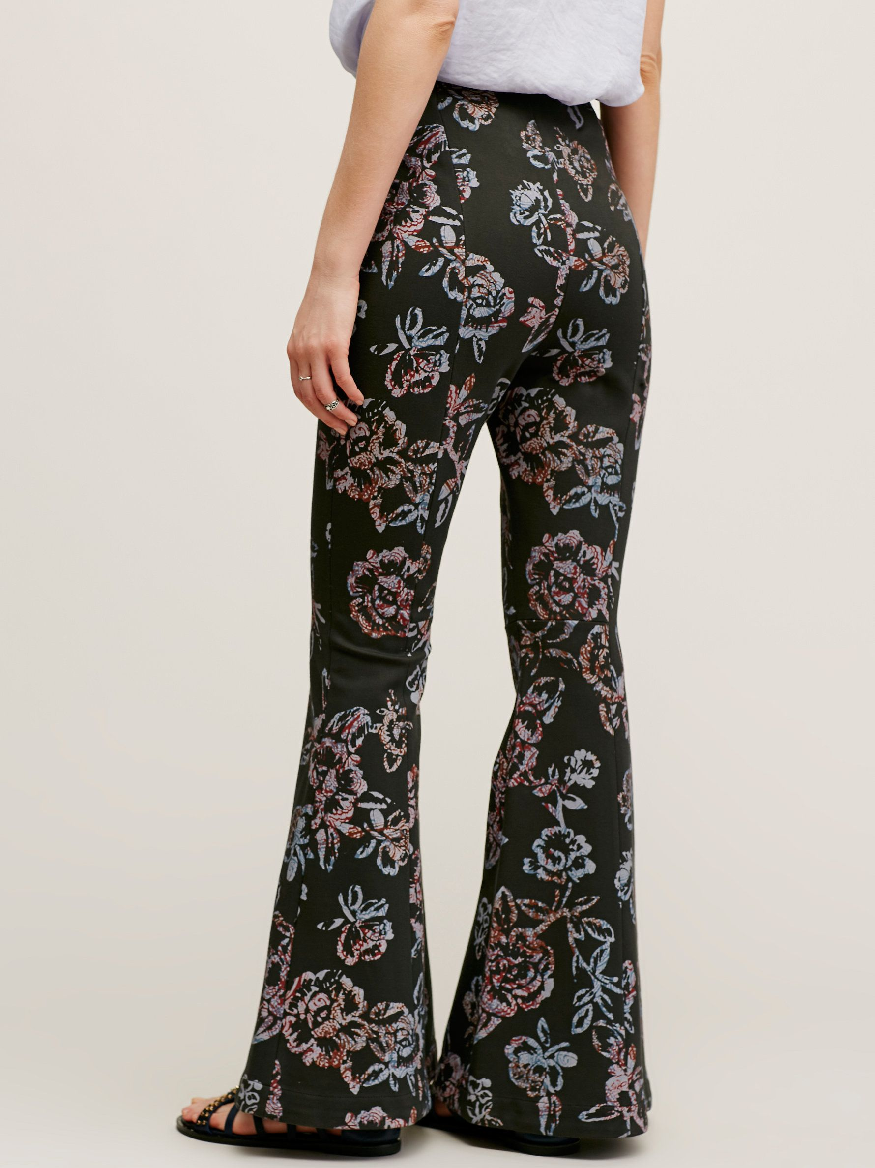 f90db3cf4a6 Image result for Free People floral bell bottom pants | Visit ...