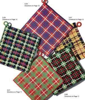 Tartan Potholder - free vintage pattern; thanks!