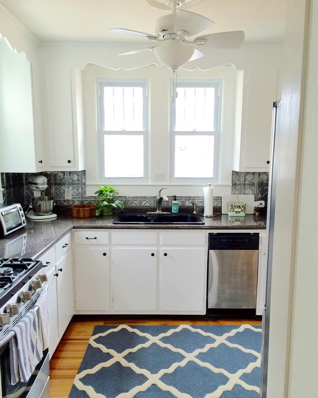 Best Small Budget Kitchen Makeover Sanding Scraping 640 x 480