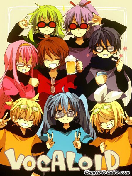 Vocaloid love doujinshi