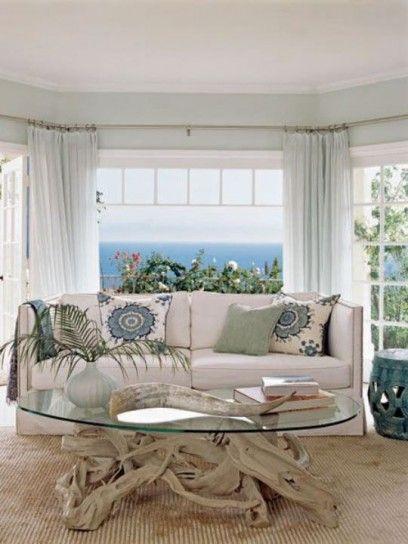 Arredamento casa al mare in stile shabby chic (con