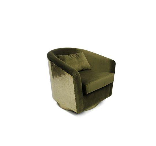Samt Stuhl Samt Sessel Hochwertige Möbel Designer Möbel