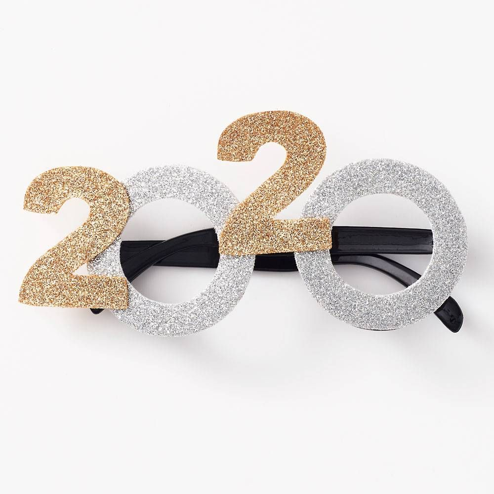 2020 Sparkly New Years Glasses (With images) Glasses