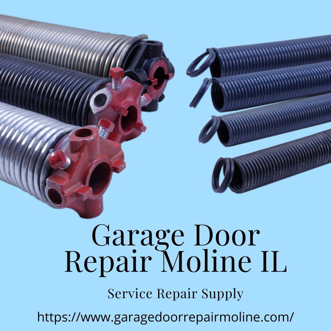 Contact the Garage Door Repair Moline IL for your Overhead ... on Overhead Garage Door Spring Replacement  id=91034