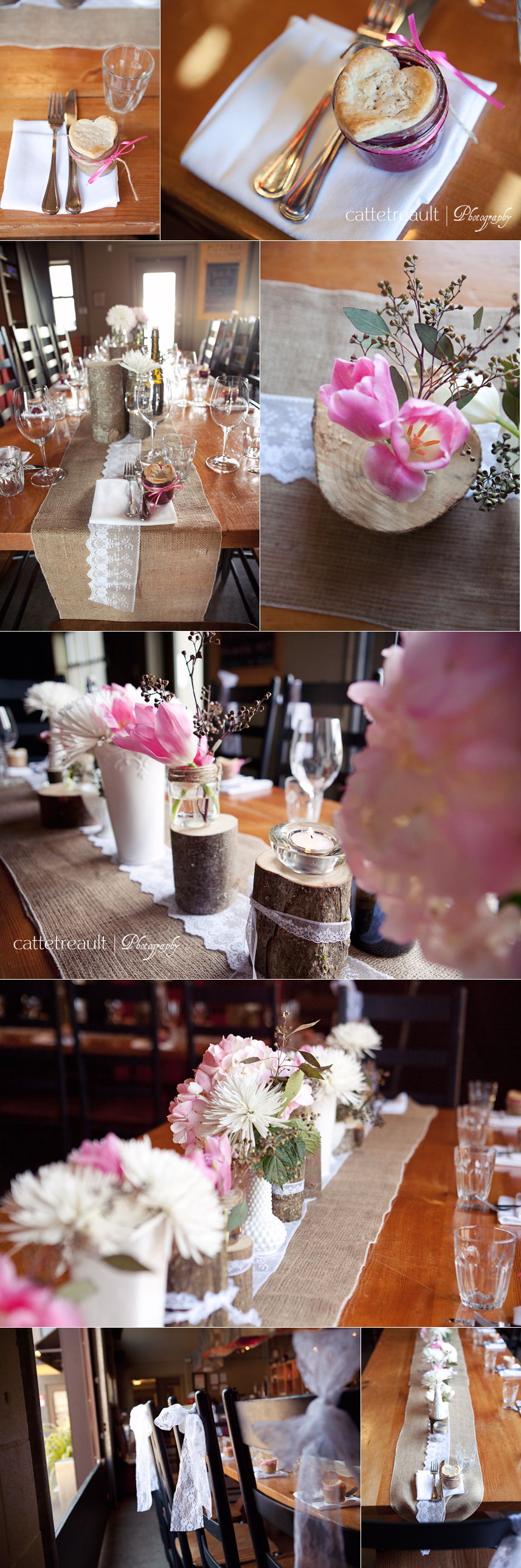 Another stunning example of how to decorate PPS Bridge for your wedding.