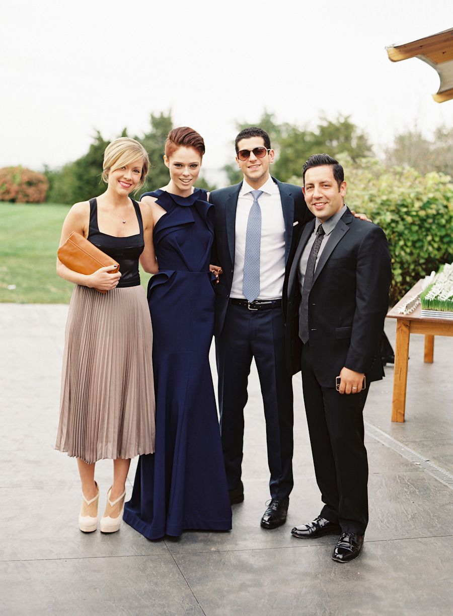 Modern Nautical Newport Wedding Wedding Attire Guest Blake Lively Wedding Celebrity Dresses Red Carpet [ 1223 x 900 Pixel ]
