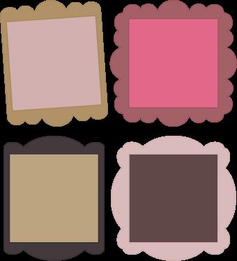 Free SVG File – 04.13.13 – Scalloped Squares   SVGCuts.com Blog