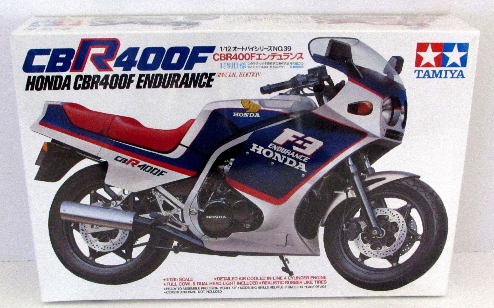 Honda CBR400F Endurance Tamiya 14039 1 12 Scale New Motorcycle Model Kit