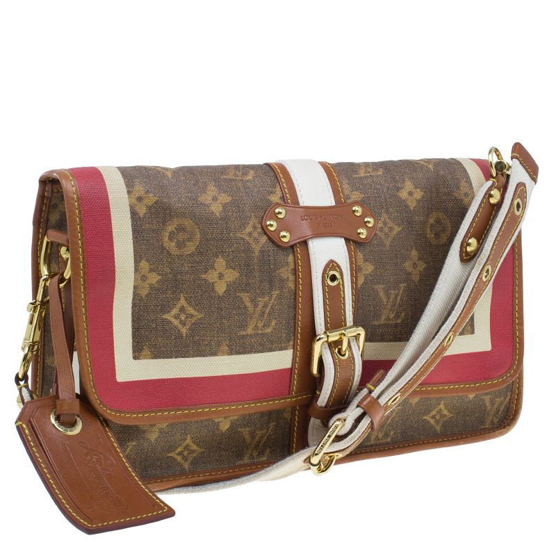 cb2ac4bb5c66 Louis Vuitton Monogram Limited Edition Tisse Porte Rayures Clutch Bag - Buy    Sell - LC  100 from  1800