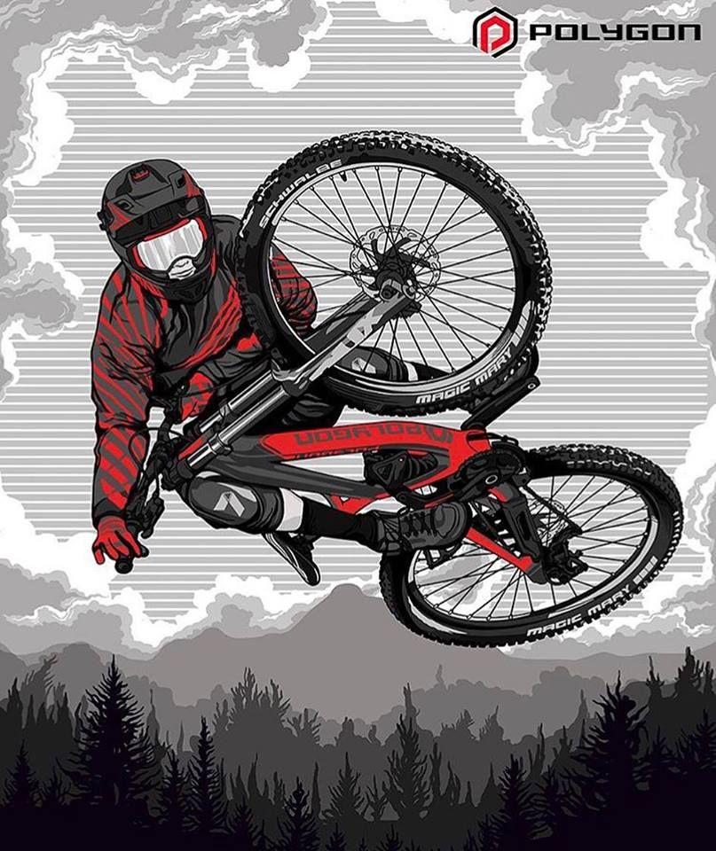 Pin De Jason Terhaar En Action Art Arte Bicicleta Arte De