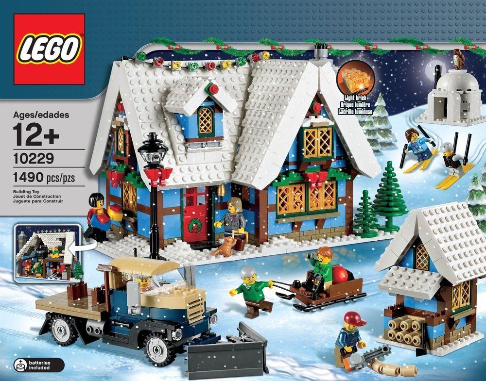 Lego Creator Expert Winter Village Cottage 10229 New Retired Lego Christmas Lego Christmas Village Lego Winter Village