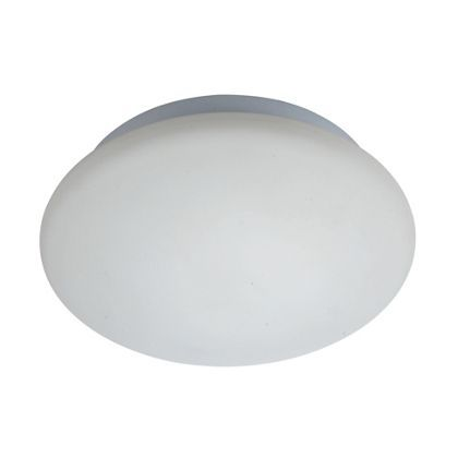 Led Bathroom Lights Homebase cosmos flush ceiling light - frosted glass | flush ceiling lights