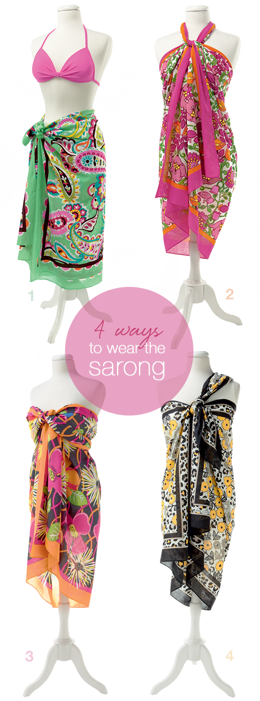 ef498dd05770 4-way tie: 4 ways to wear the Sarong #vbsummer | Style | Sarong ...