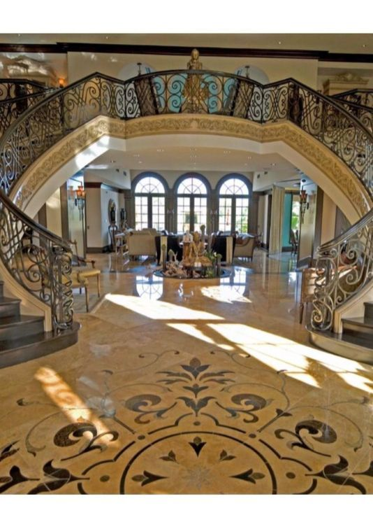 Best 25 Classic And Beautiful Double Sided Staircase Design 400 x 300