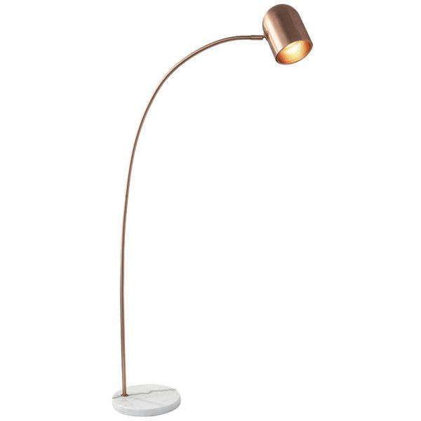 The Pratt 64 Quot Arched Floor Lamp Mixes Trend With Simplicity To Create A Classic Design With