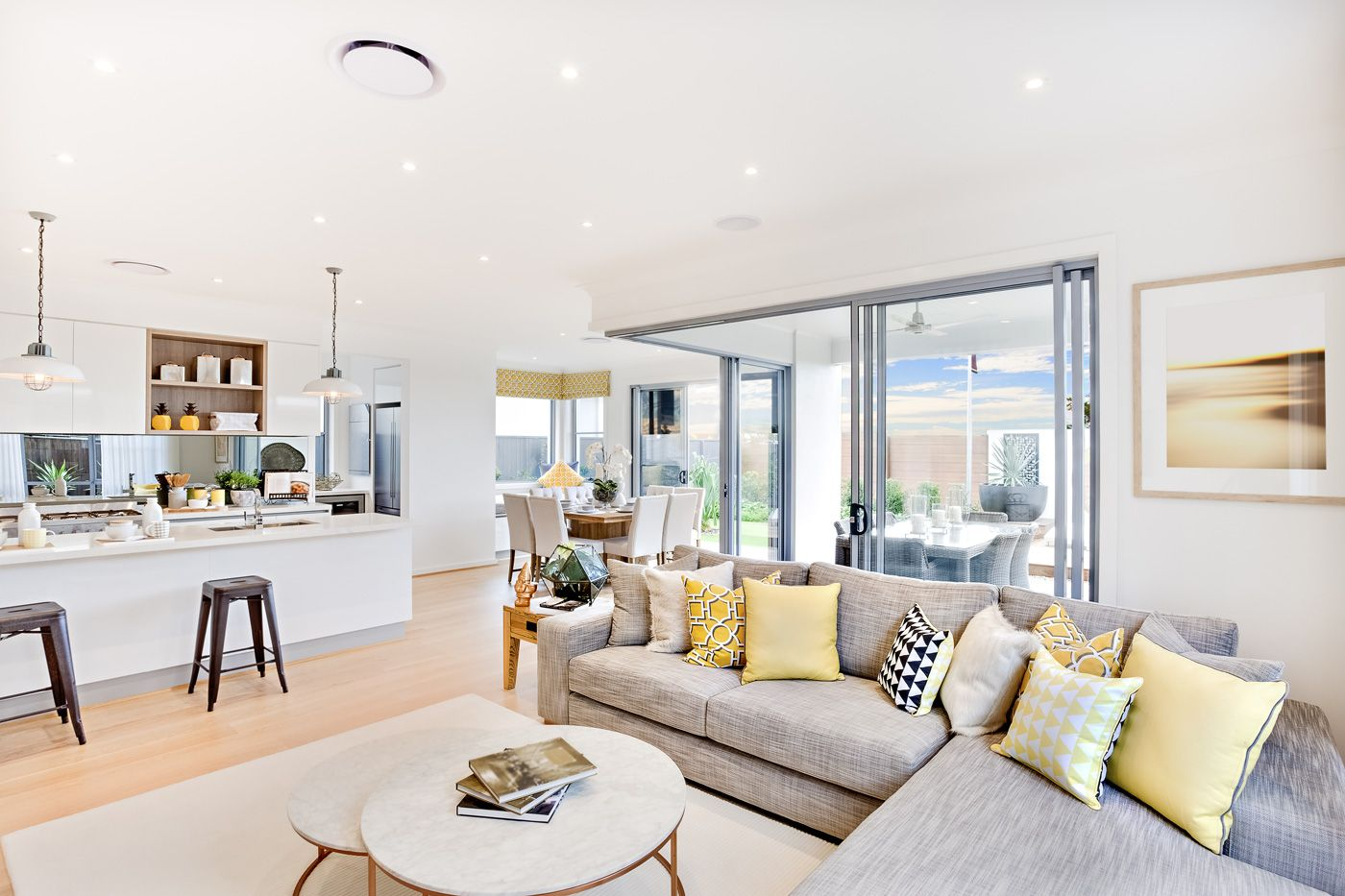 Easy Spring Decor Ideas With Urban Barn Coastal Living Rooms Living Room White Living Room Decor