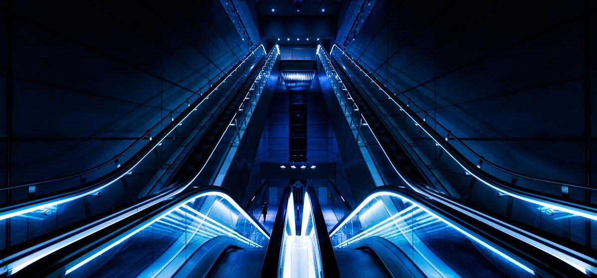 Sci-Fi Metro Station - The Metro System in Copenhagen a new Metro and the stations are very modern and sci-fi like. --Jacob Surland Easy to read and understand tutorials on http://bit.ly/1QTIkgg  Art sale as limited prints. Photo by Jacob Surland  Licensed Creative Commons non-commercial v4.0.  No Derivative Work. Protected by Pixsy.com.