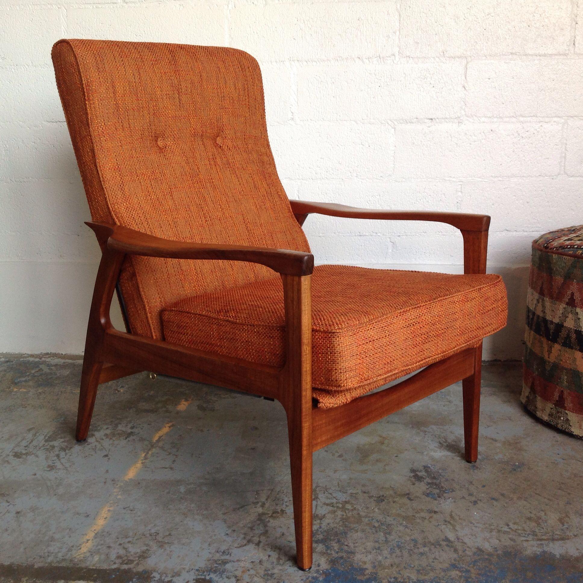 Surprising Don Rex Recliner Tv Arm Chair C 1960S Designsmith Complete Short Links Chair Design For Home Short Linksinfo
