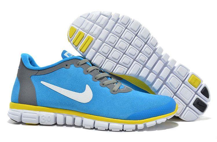 sale retailer ec90c da59f ... run 4.0 v3 femme 1a181 e3eec coupon for nike free 3.0 v2 femme royale  bleue jaunes anti fur chaussures acdab dbb5c ...