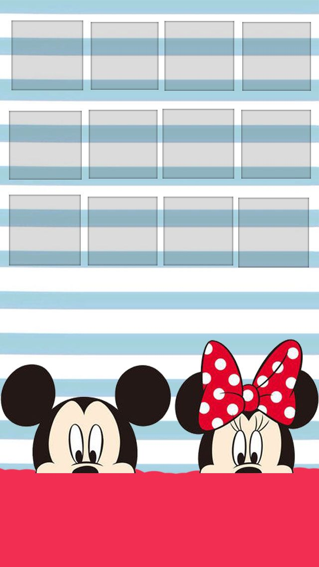 Mickey And Minnie Iphone Ipod Wallpapers Pinterest Mickey