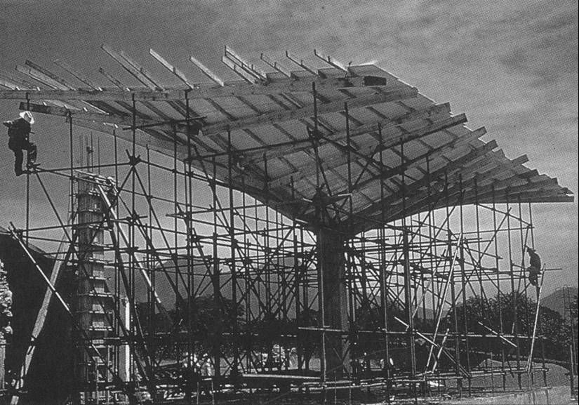 Thin Shell Hypoerbolic Paraboloid Surface Structures By